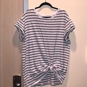 Striped shirt!